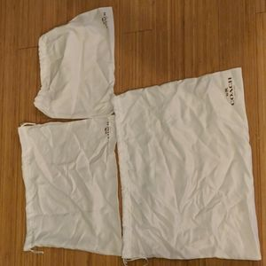 Silk Coach Cover Bags with Drawstring